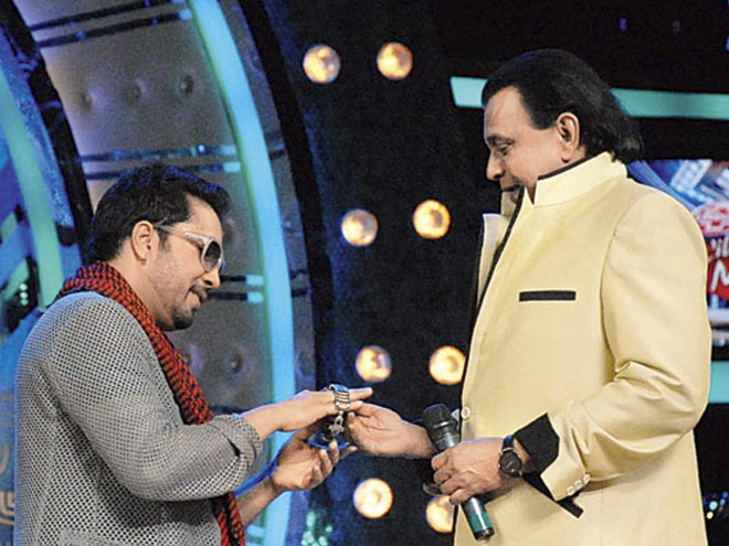 Mika Singh, watch, disco king, Mithun Chakraborty