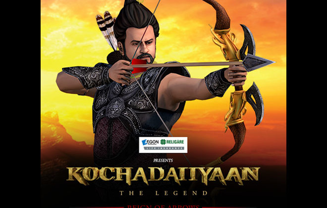 Kochadaiiyaan, online game, AEGON, Religare Life Insurance