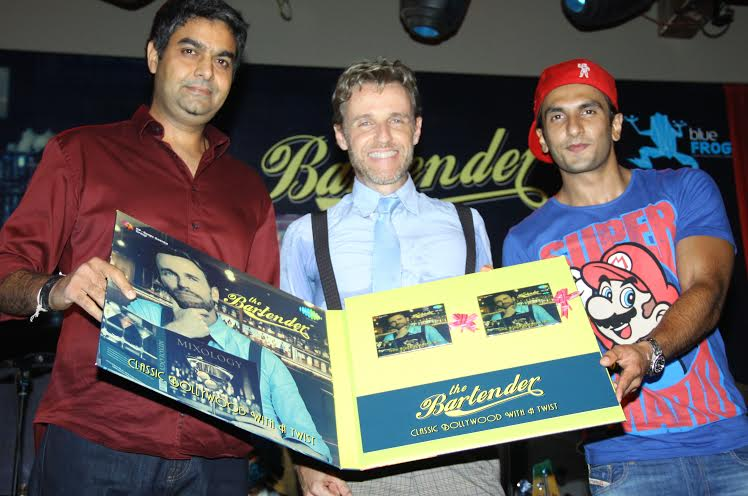 Ranveer Singh, Mikey McCleary, album, Classic Bollywood with a Twist, The Bartender