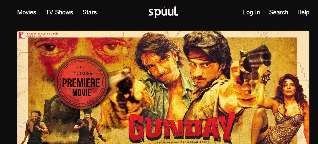 SPUUL, ACTION THRILLER, FILM, GUNDAY