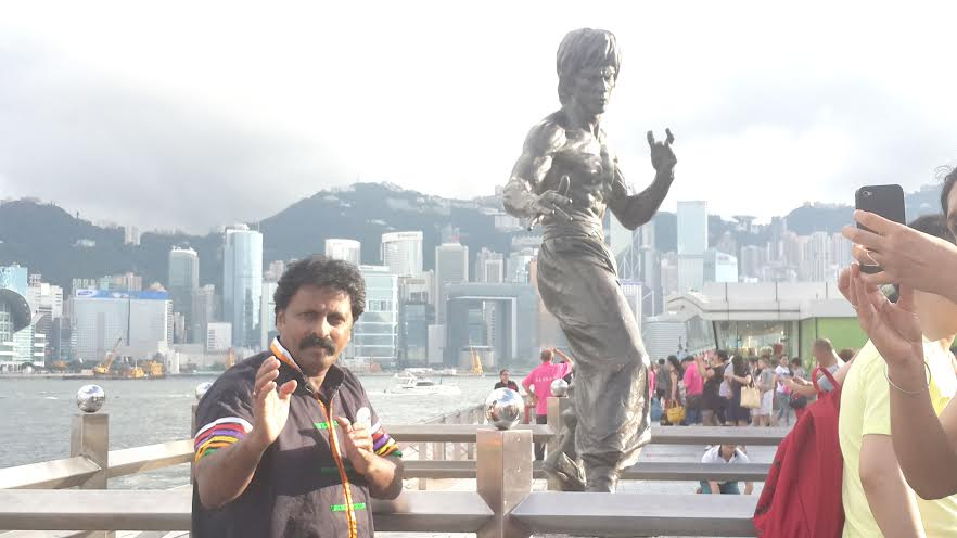 Chitah Yajnesh Shetty, Hong Kong, Bruce Lee