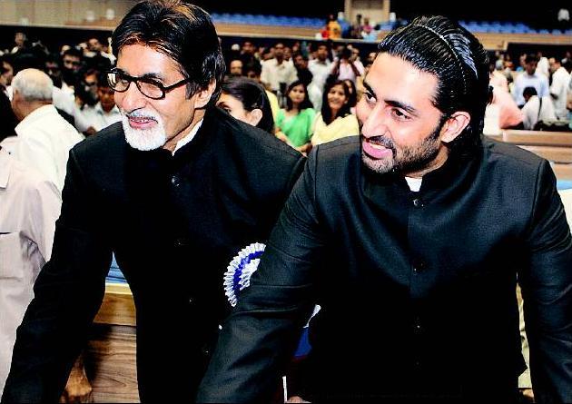 Abhishek Bachchan, Amitabh Bachchan , Brazil, FIFA Worldcup 2014, finals