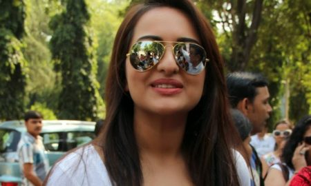 Sonakshi Sinha, singing, Lets Celebrate