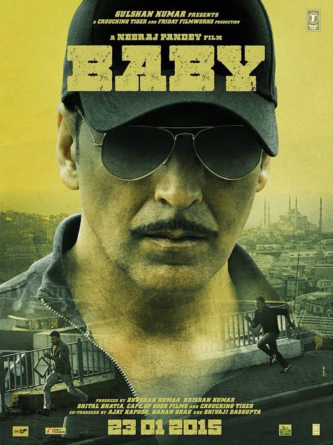 First Look, Akshay Kumar, Baby, official poster