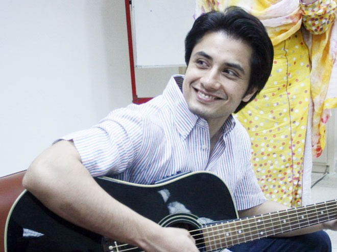 Ali Zafar, media, University of Lahore