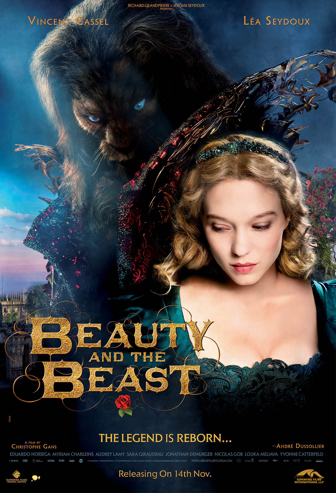 Beauty and The Beast, theatrical trailer, Watch