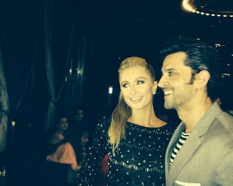 Paris Hilton, Hrithik Roshan, Hot, Bollywood