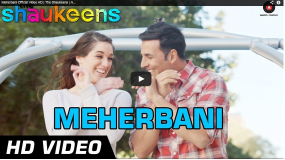 Music Video, romantic, Meherbani, The Shaukeens
