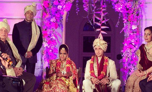 Arpita Khan, wedding, speech