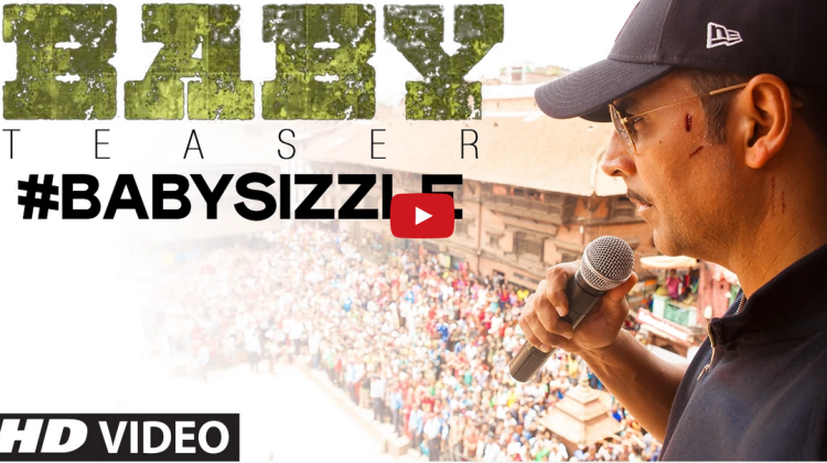 Akshay Kumar's, Baby Sizzle, First Look Teaser, Realised On Youtube