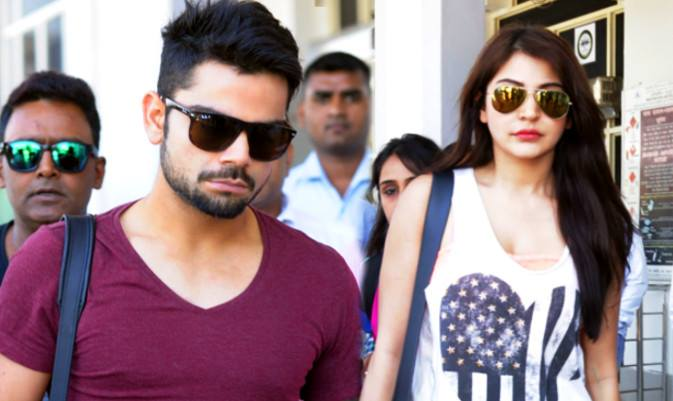 Virat Kohli, dating, Anushka Sharma