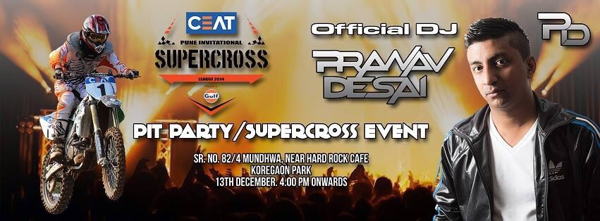 Ceat Pune Supercross Pit Party Ceat Pune Supercross Pit Party
