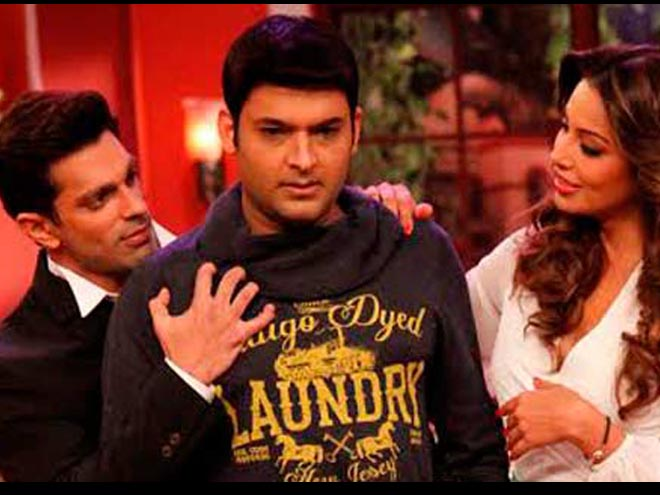 Karan Singh Grover, Bipasha Basu, Comedy Night with Kapil