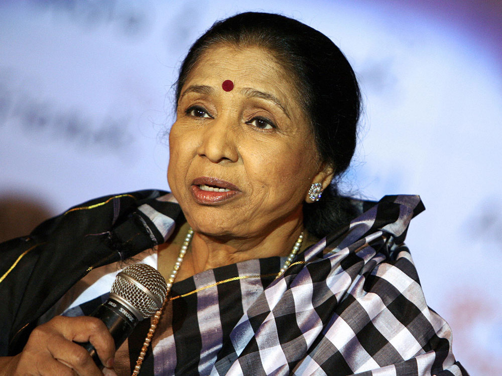 PLAYBACK SINGER, ASHA BHOSLE, LIFETIME ACHIEVEMENT AWARD, 11TH DUBAI INTL' FILM FESTIVAL, DIFF