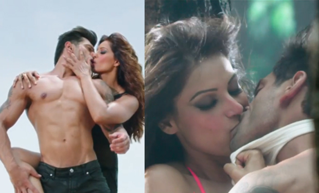 Karan Singh Grover, Bipasha Basu, kissing scenes, movie, Alone
