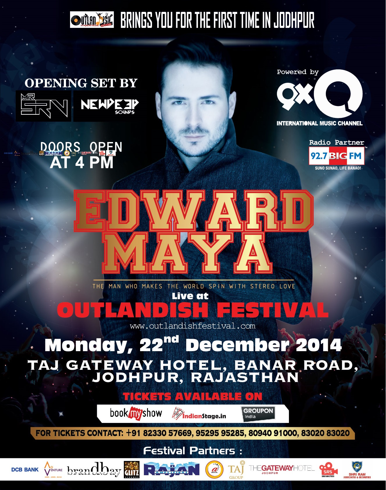 Outlandish Festival, 2014