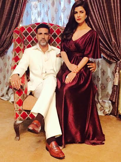 Akshay Kumar, Nimrat, movie, Airlift