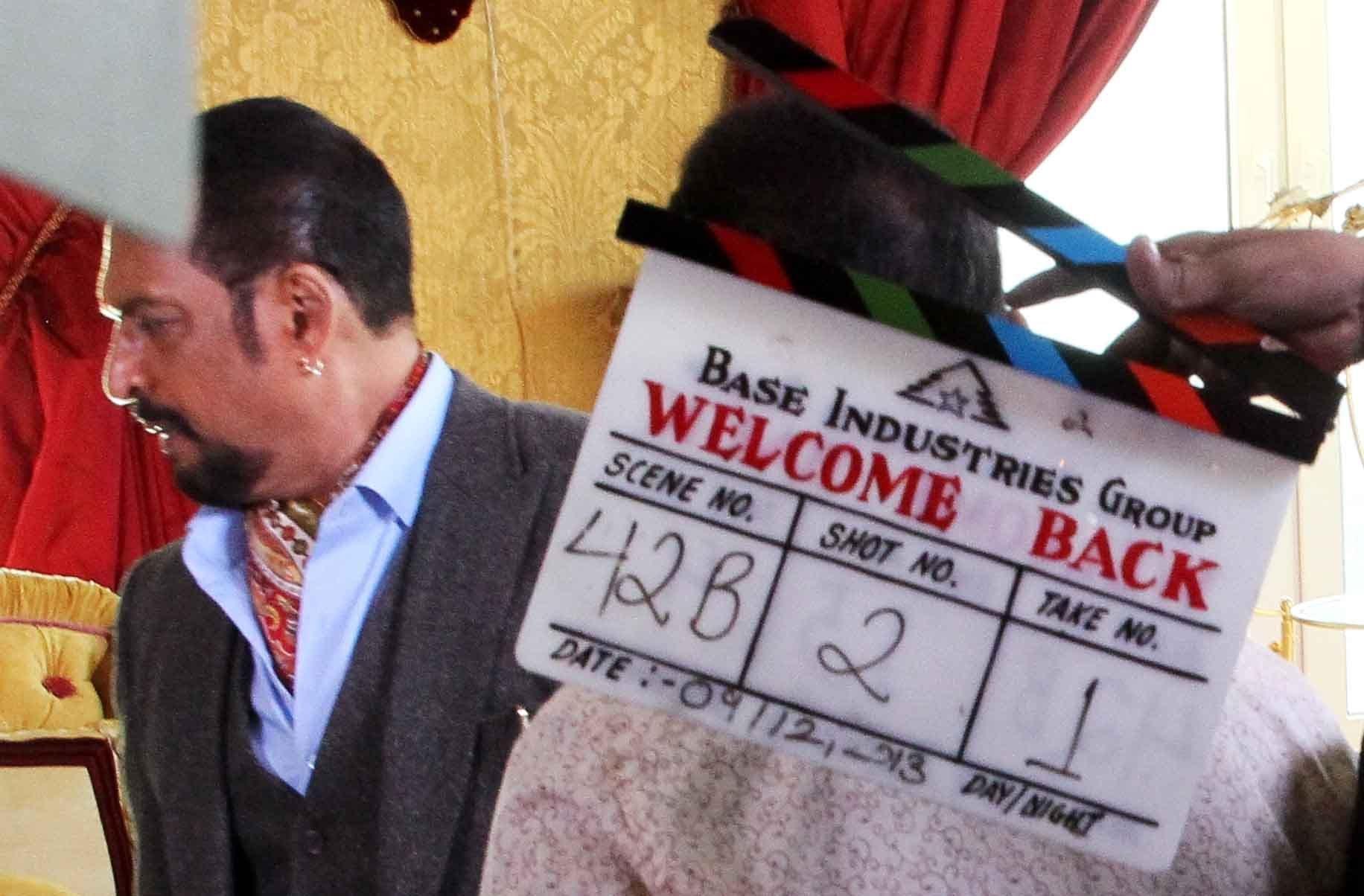 shooting, Welcome Back, Filmcity