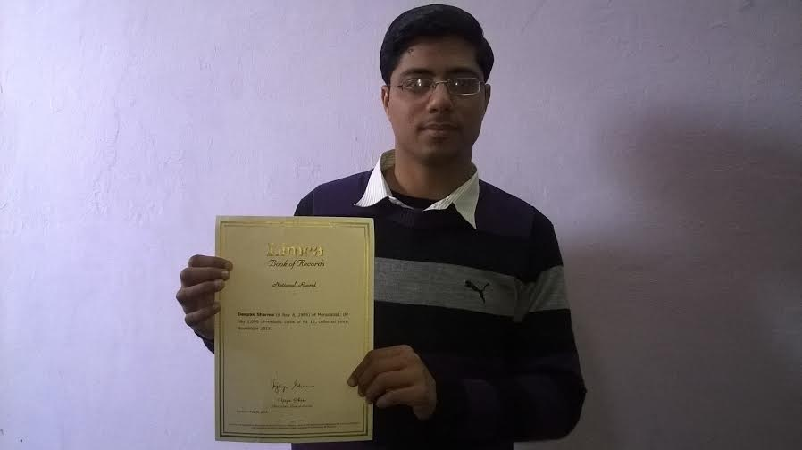 Deepak Sharma, Limca Book of Records