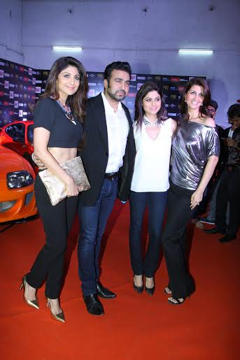 Shilpa Shetty, Raj Kundra, The Fast and the Furious