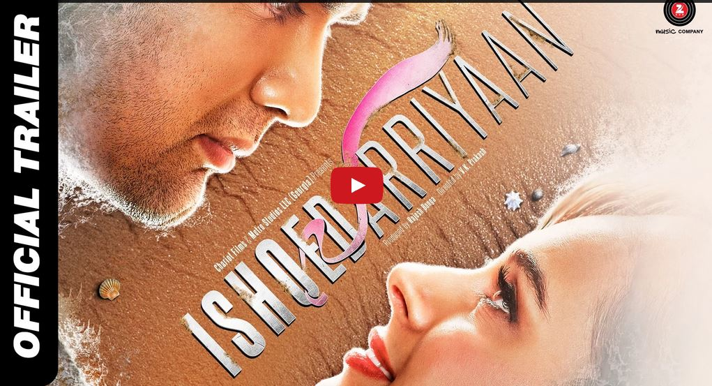 Official Trailer, Ishqedarriyaan, Mahaakshay, Evelyn Sharma, Mohit