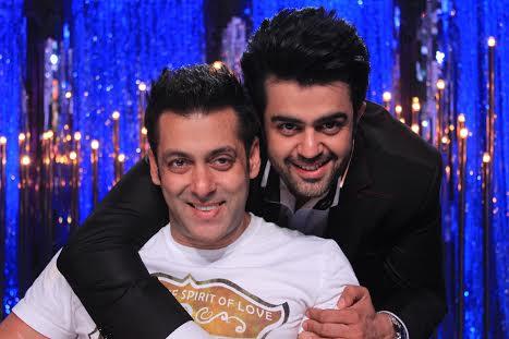 Salman Khan, Manish Paul, AIBA awards