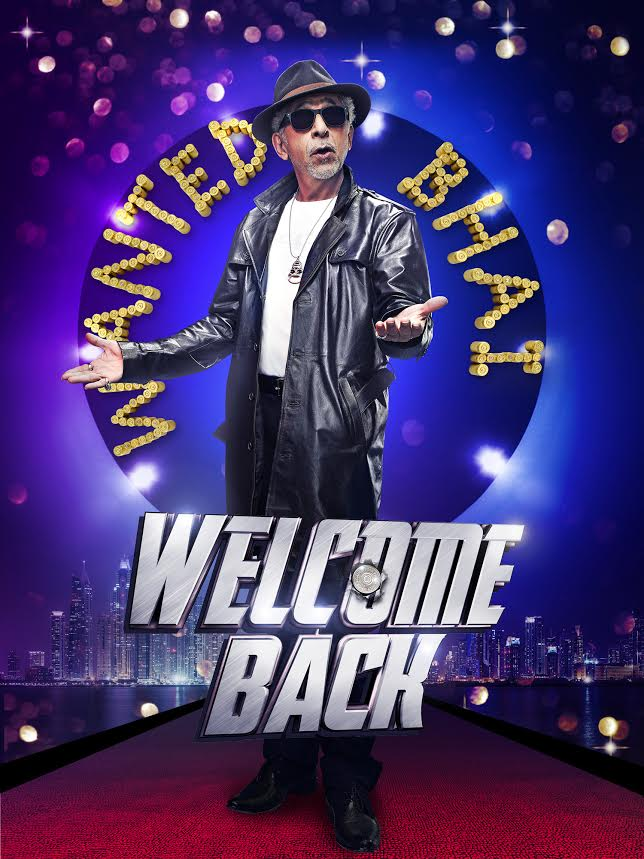 Welcome Back, official posters , Wanted Bhai