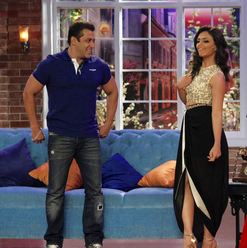 Roshni Chopra, Salman Khan, Comedy Nights with Kapil
