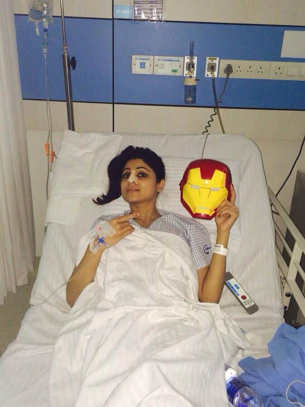 Shamita Shetty, dance, reality show, nose, injury