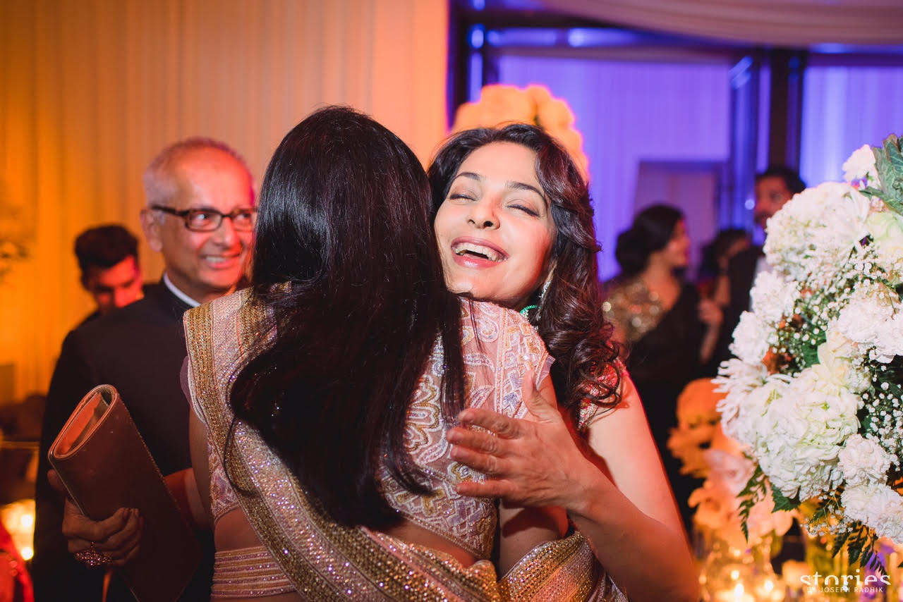 Asin, Rahul Sharma, reception, Mumbai, Pictures