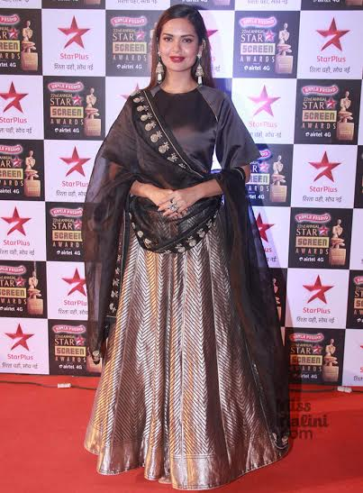 Esha Gupta, Sanjay Garg, Star Screen Awards