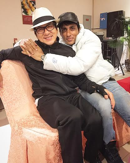 Jackie Chan, New Year gift, Sonu Sood