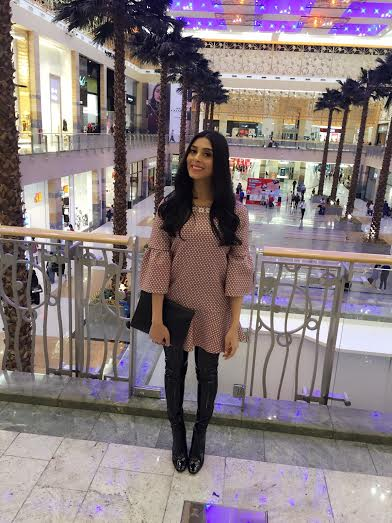 Pernia Qureshi, Dubai Shopping Festival