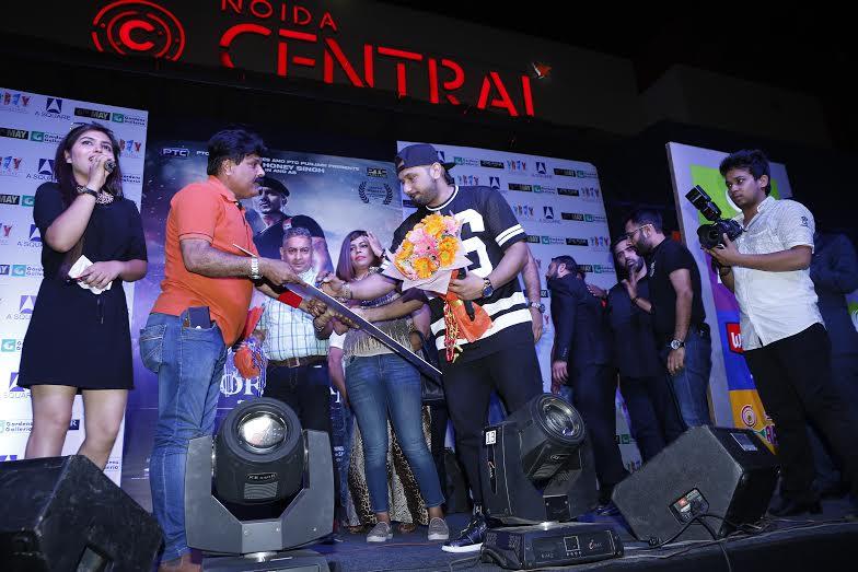 Honey Singh, Delhi, Zorawar, promotion
