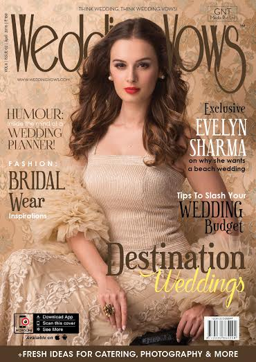 Actress, Evelyn Sharma, Wedding Vows