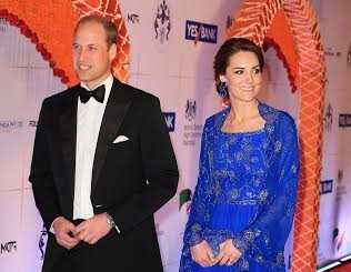 Kate Middleton, The Duchess of Cambridge, Amrapali, Royal Gala Dinner, Mumbai