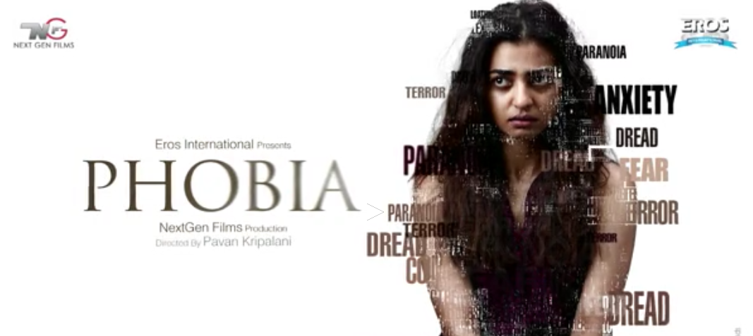 Radhika Apte, upcoming movie, Phobia, first look