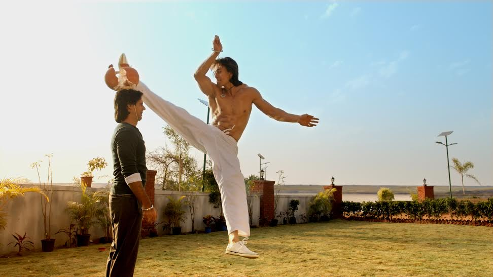 Remo, Tiger Shroff, Martial arts