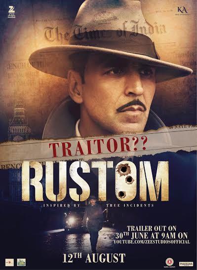 Akshay Kumar, Rustom trailer