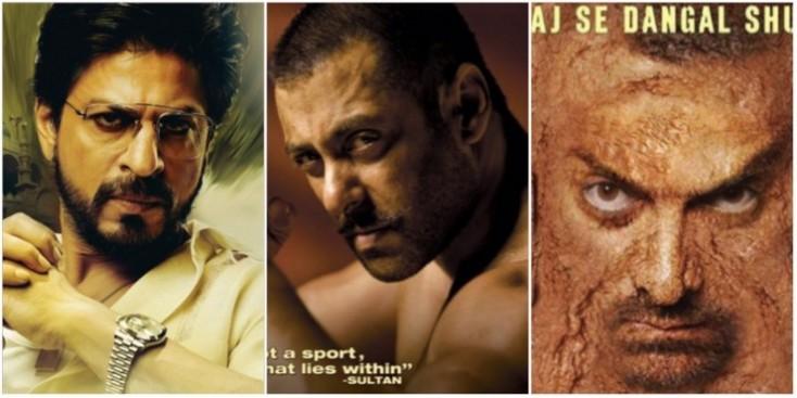 Salman Khan, Shah Rukh Khan, Aamir Khan, EID