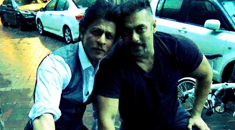 Salman Khan, ShahRukh Khan, bicycle ride, marketing, Sultan