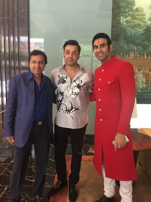 Bobby Deol, Sandip Soparrkar, India Day Parade, New York