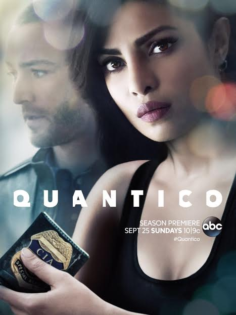 Priyanka Chopra, Television, Sexiest Agent, poster, Quantico S-2
