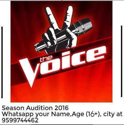 &TV, singing, reality show, The Voice India, Season 2, audition