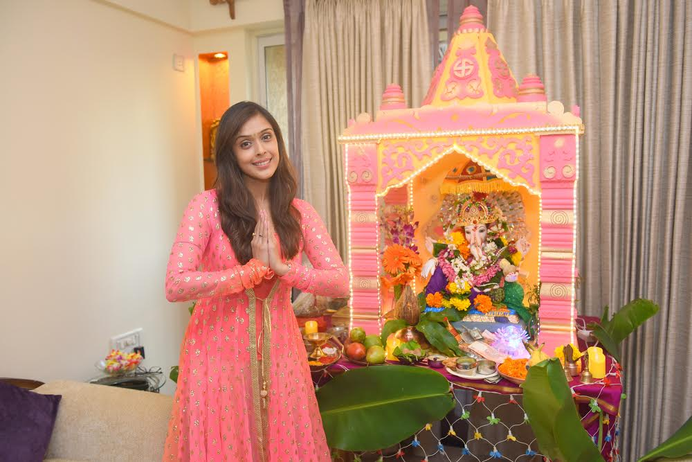 Hrishitaa Bhatt, Eco friendly, Lord Ganesha