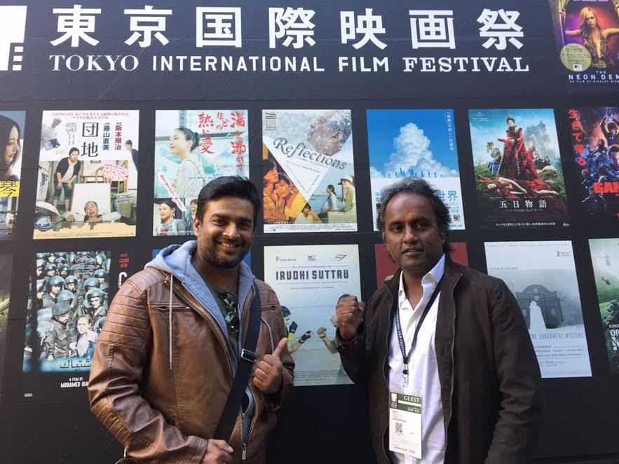 R Madhavan, Irudhi Suttru, Tokyo International Film Festival