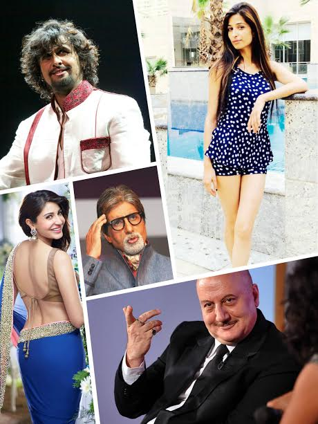Bollywood, supports, Narendra Modi, black money, 500 and 1000 rupee notes