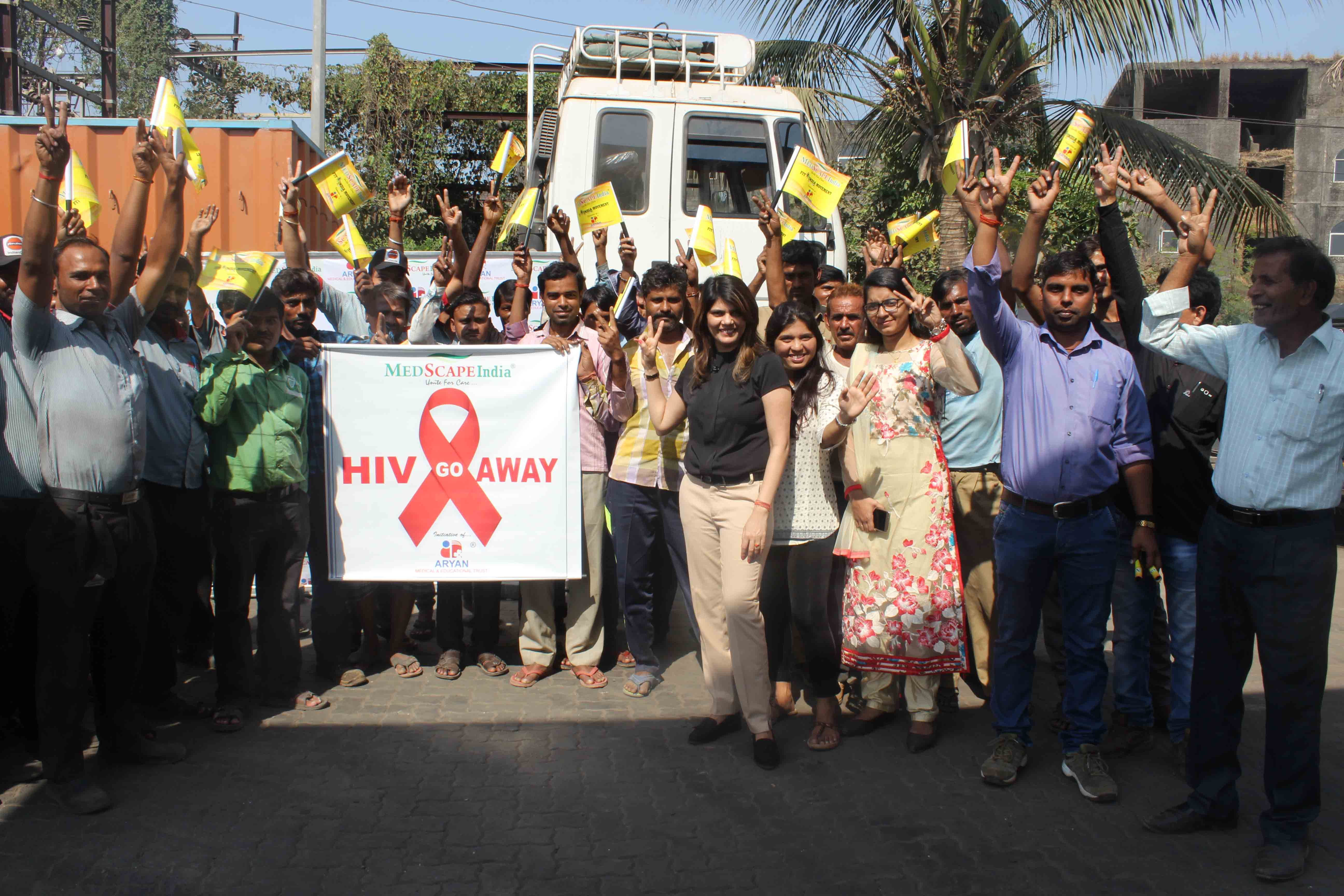 MEDSCAPEINDIA, SHINES, HIV AWARENESS, CAMPAIGNS