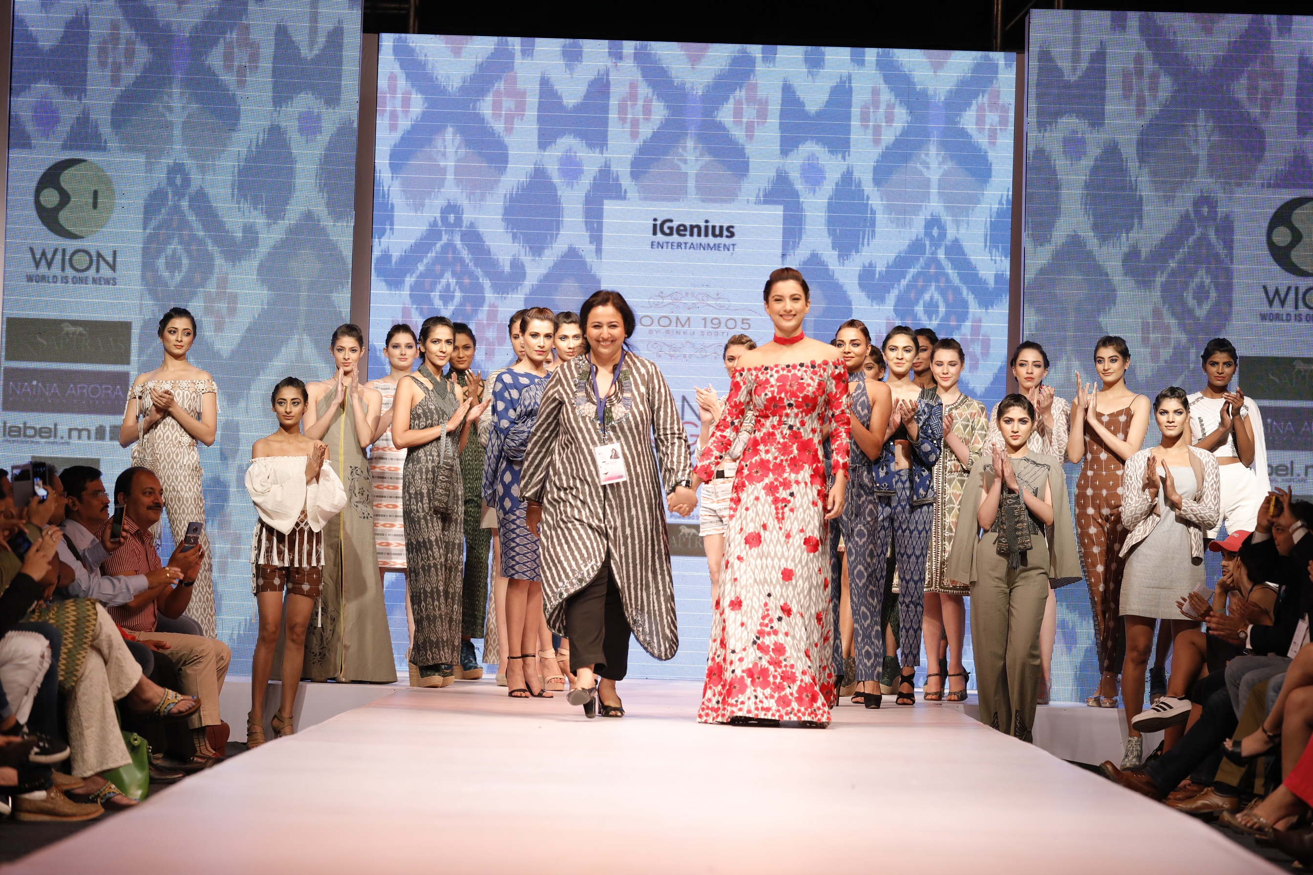 Gauahar Khan,Ramp,Designer,Rinku Sobti,Asian Designer Week, DAY 1
