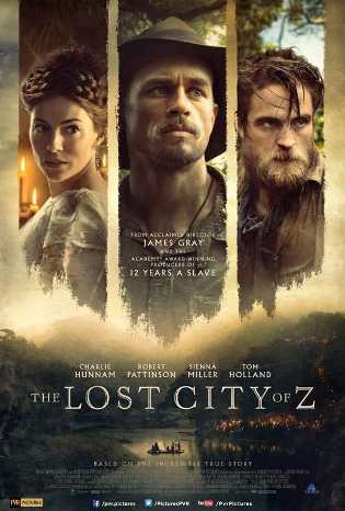 Brad Pitt,film producer, The Lost City of Z,release in India,12th May,PVR Pictures